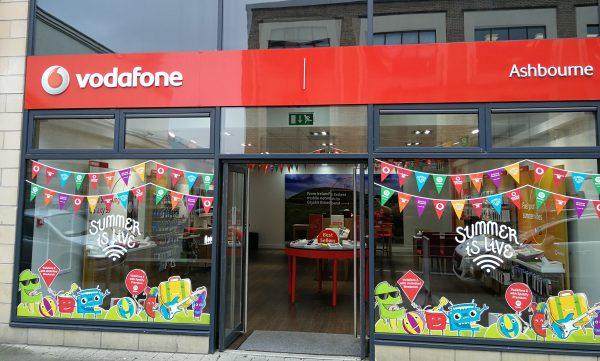 Vodafone Ashbourne Store Exterior