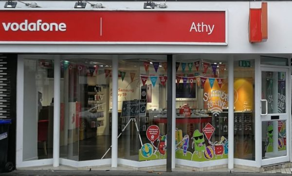 Vodafone Athy Store Exterior