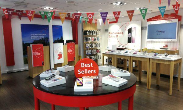 Vodafone Athy Store interior
