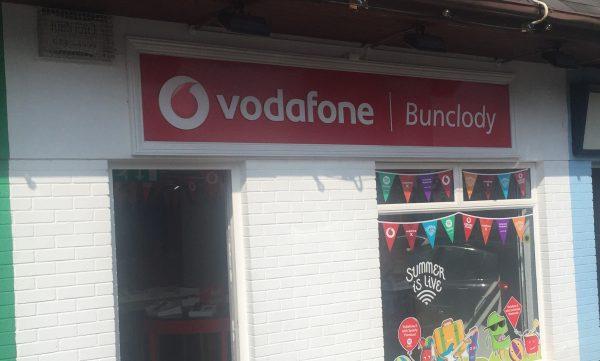 Vodafone Bunclody Store Exterior