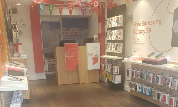 Vodafone Carrick Store Interior