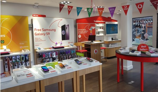 Vodafone Cavan Store Interior