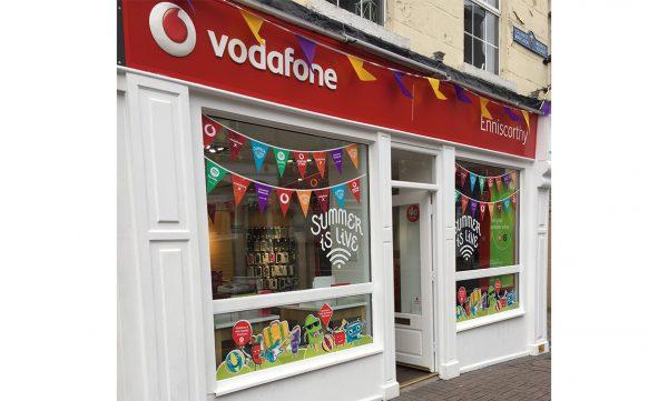 Vodafone Enniscorthy Store Exterior