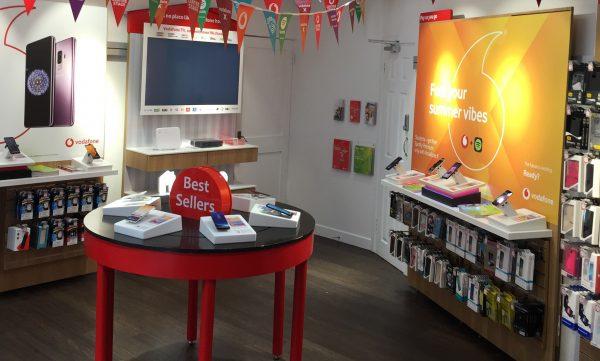 Vodafone Enniscorthy Store Interior