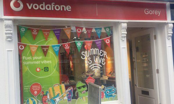 Vodafone Gorey Store Exterior