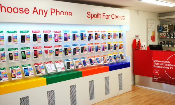 Vodafone Killeshandra Store Interior