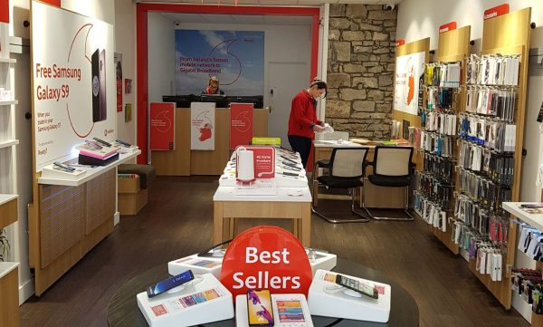 Vodafone Longford Store Interior