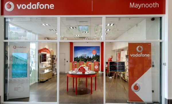 Vodafone Maynooth Store Exterior