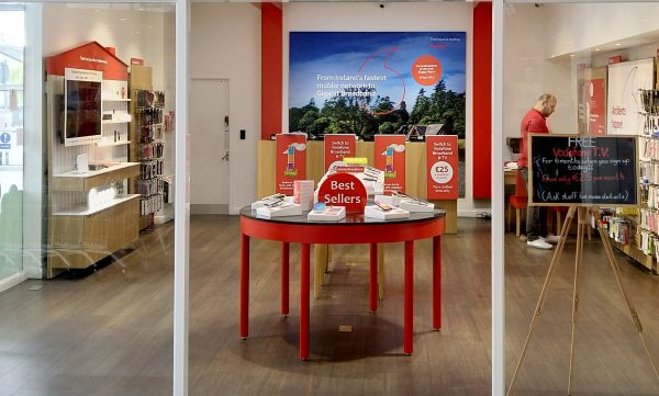 Vodafone Maynooth Store Interior