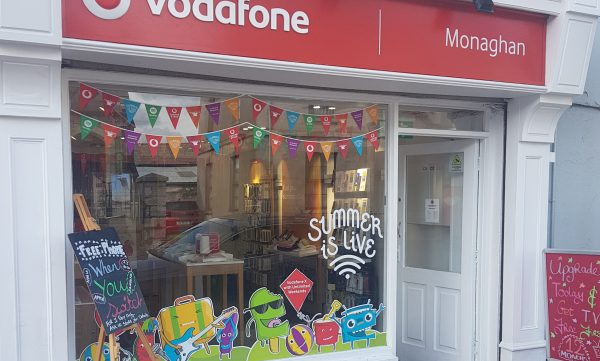Vodafone Monaghan Store Exterior