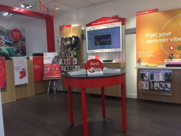 Vodafone New Ross Store Interior
