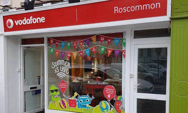 Vodafone Roscommon Store Exteior