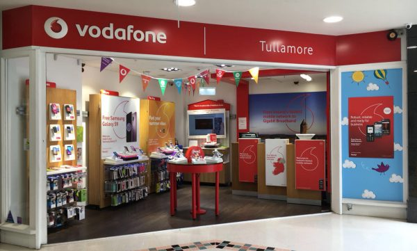 Vodafone Tullamore Store Exterior