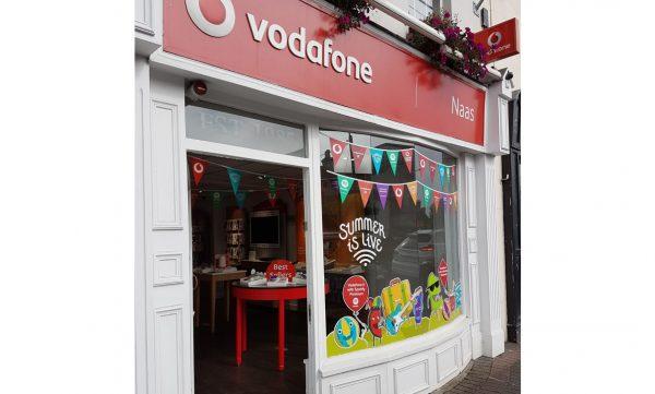 Vodafone Naas Store Exterior