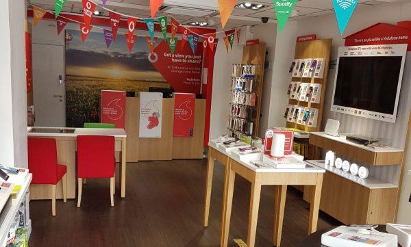 Vodafone Naas Store Interior